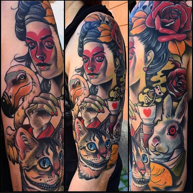 Awesome Alice in Wonderland piece!