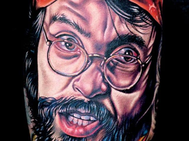 Tommy Chong by Nikko Hurtado.