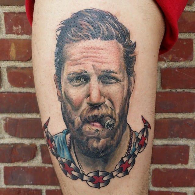 10 Intense Tom Hardy Tattoos!!
