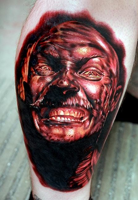 Outstanding tattoo by Cecil Porter