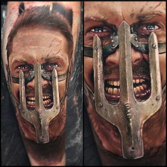 Epic Max Tattoo by Paul Acker