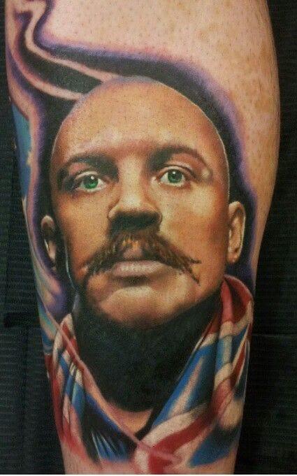 Awesome tattoo by Patrick McFarlane