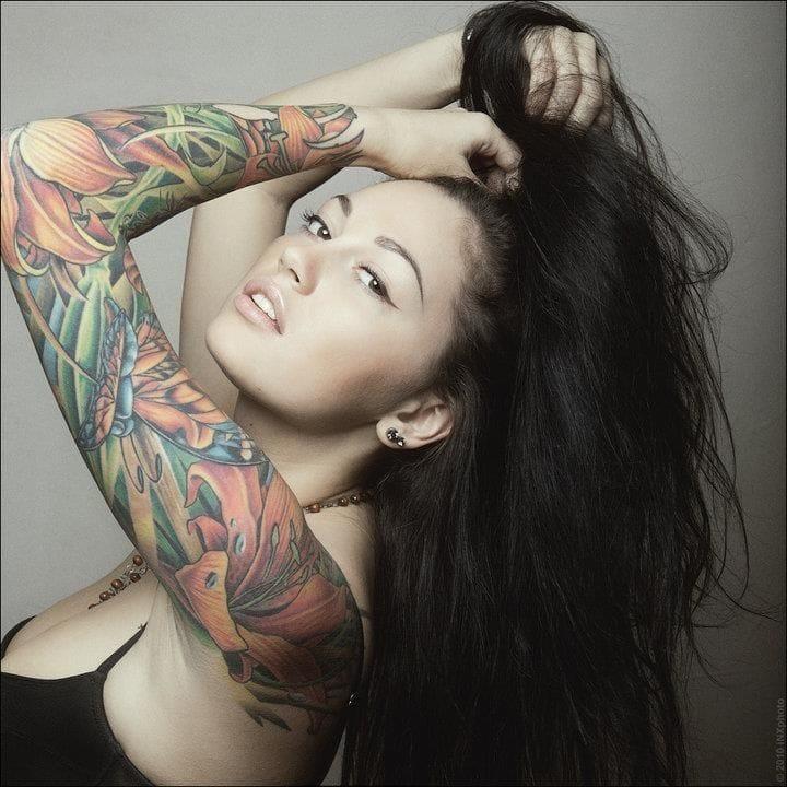 28 Beautiful Flower Tattoos