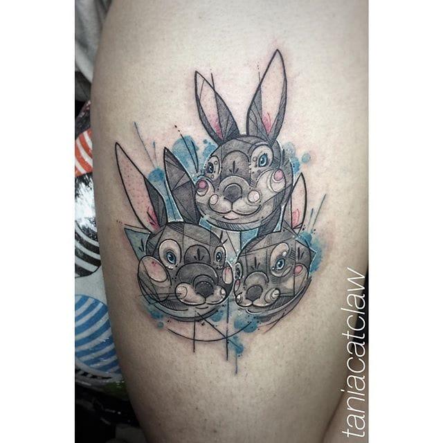 Adorable bunny family!