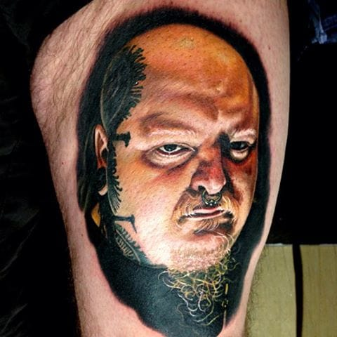 Paul Booth tattoo