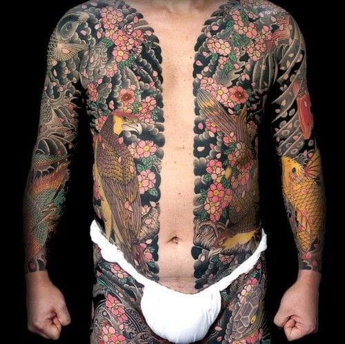 Cherry blossoms bodysuit