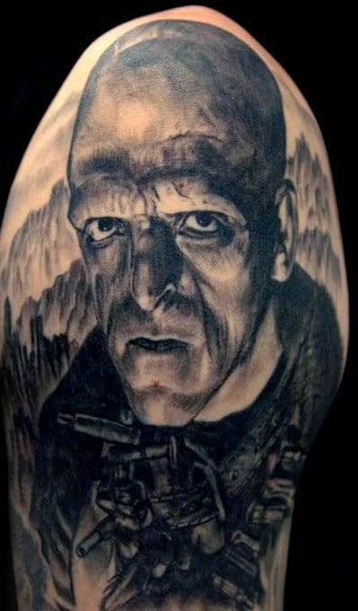 The Hills Have Eyes tattoo by Renaissance Tattoo