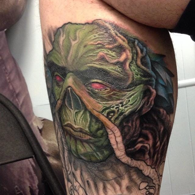 Wes Craven Tribute Tattoo