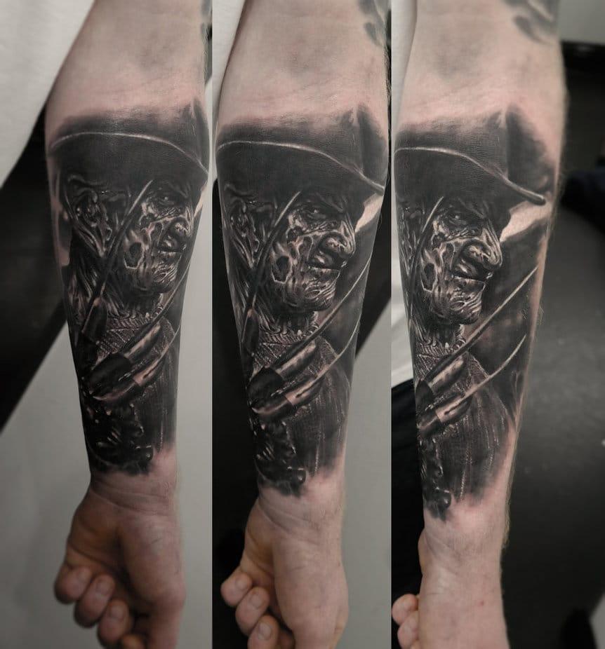 A Nightmare on Elm Street tattoo by edgarivanov