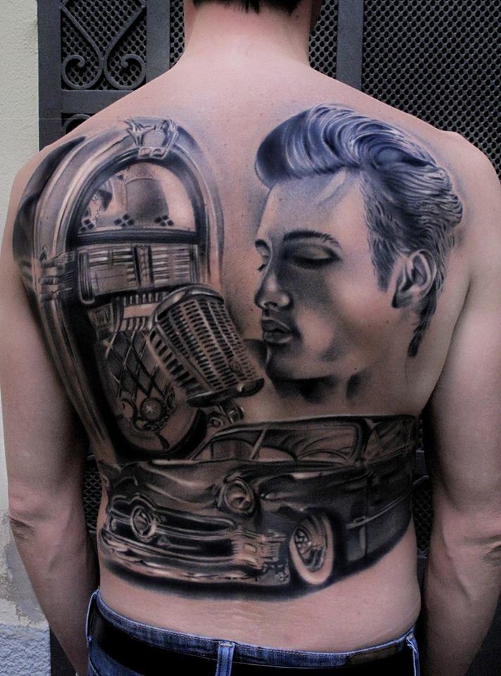 Afferni Back Tattoo
