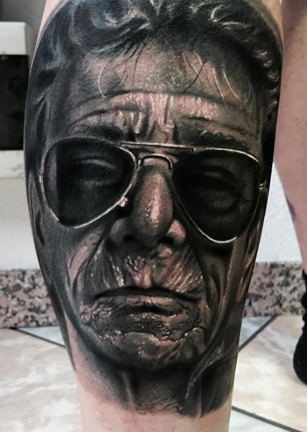 Afferni Portrait Realism Tattoo