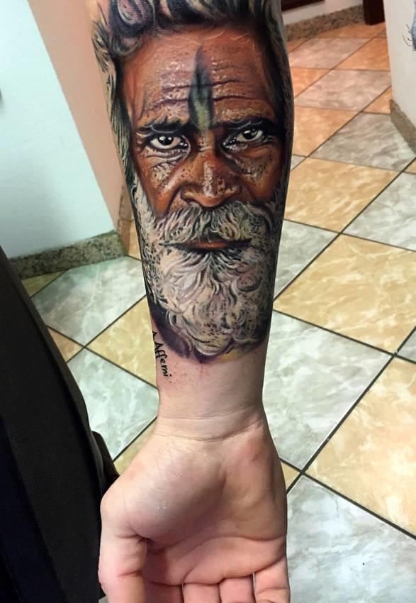 Afferni Portrait Tattoo