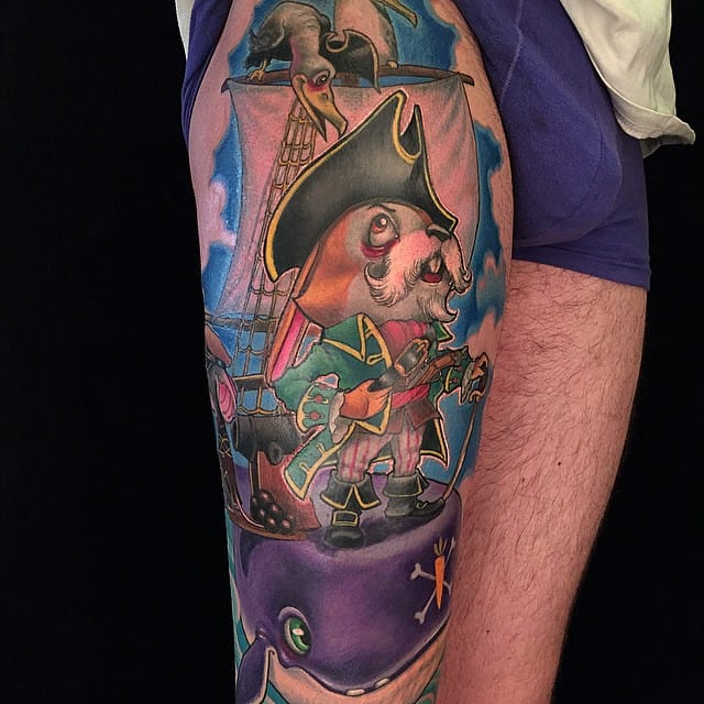 Cool pirate piece!