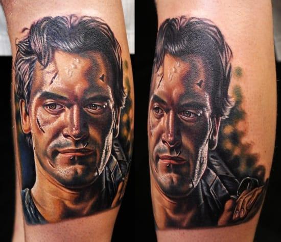 Awesome portrait tattoo