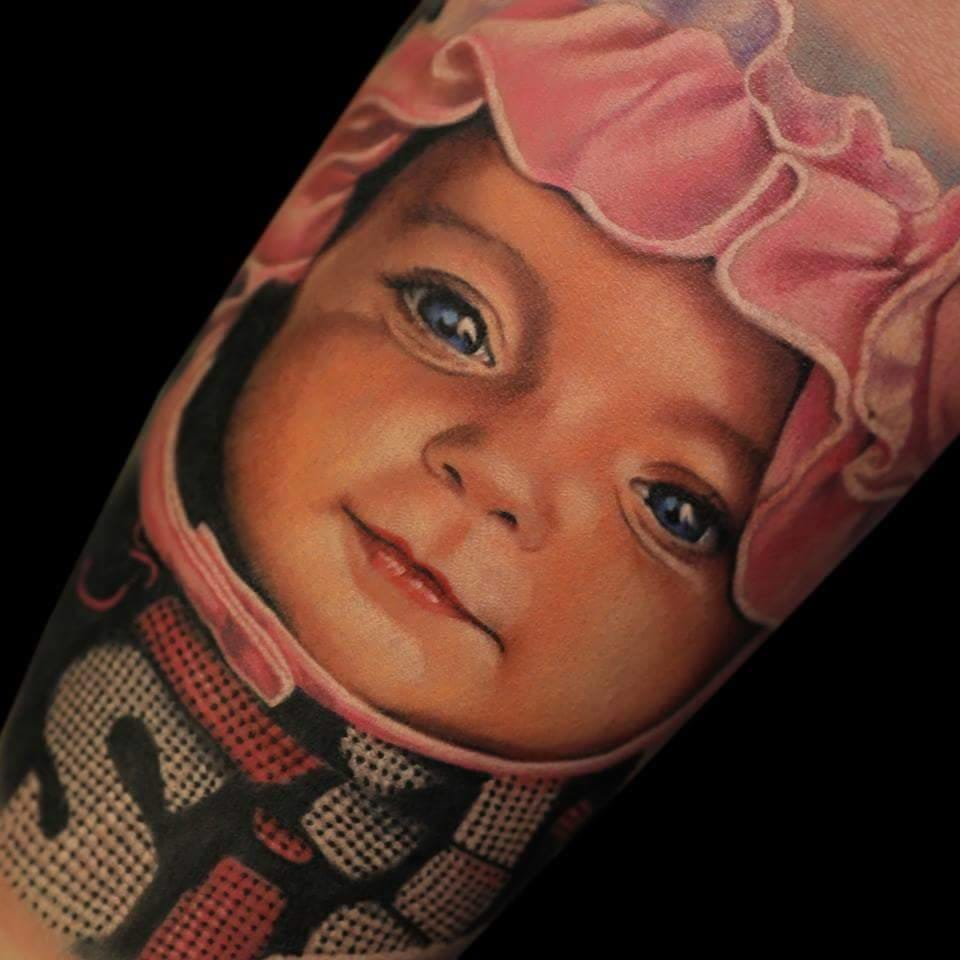 Adorable Baby Tattoos For Proud Tattooed Parents
