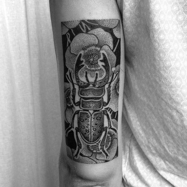 Badass beetle piece!