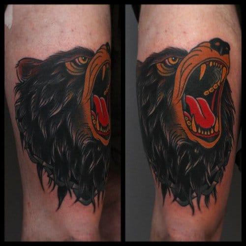 Bear Growl by Tony Nilsson