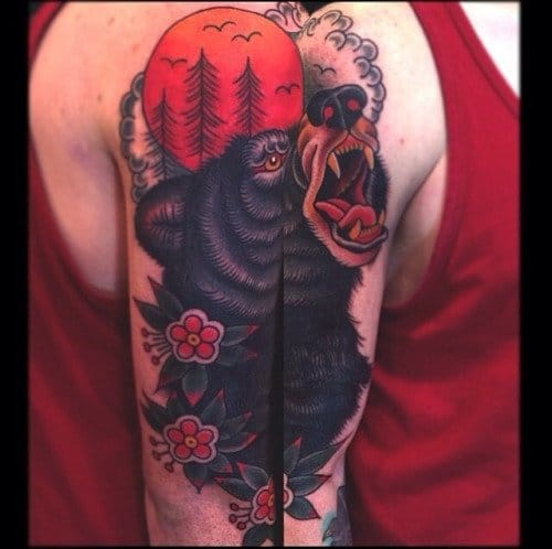 Amazing Traditional Bear by Jason Walstrom