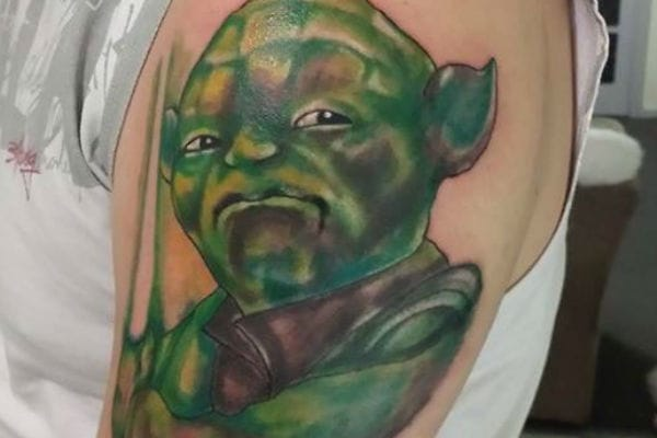 If Yoda and Shrek had a love child...