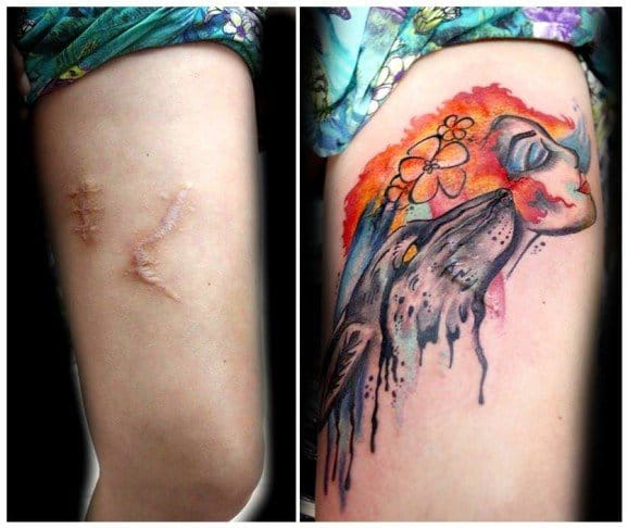 Beautiful cover up
