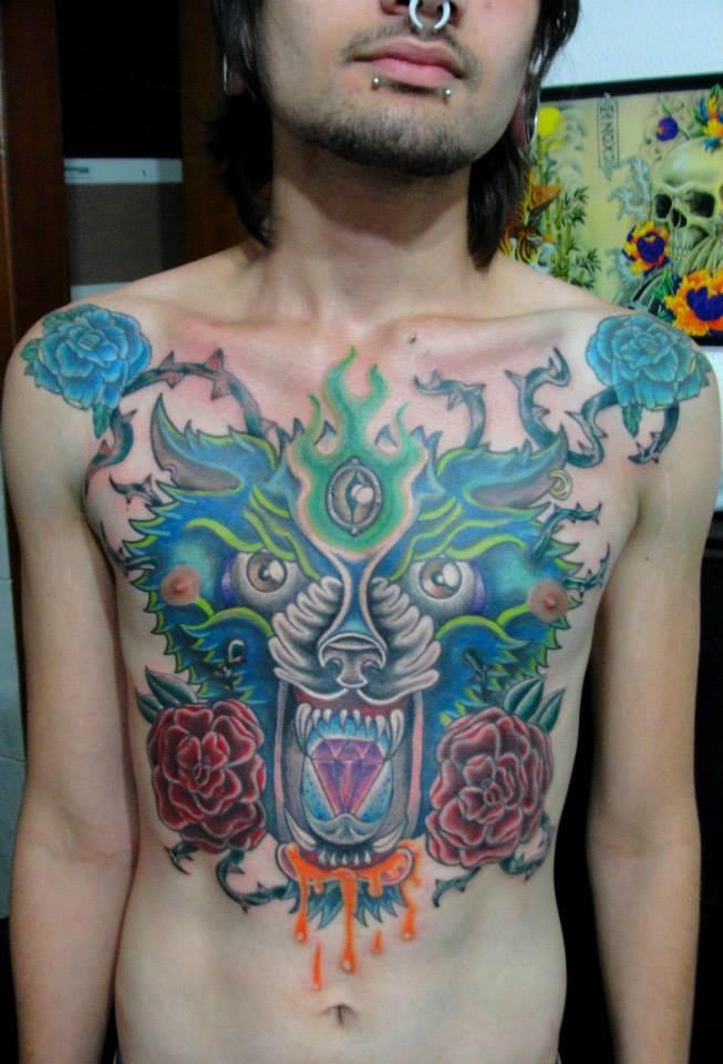 Talento e Dedicação: 20 Tatuagens Em Free Hand Sensacionais