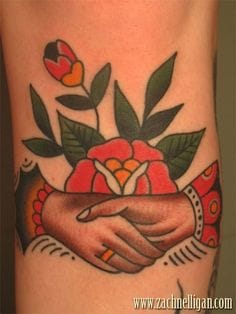 Great floral piece by Zach Nelligan