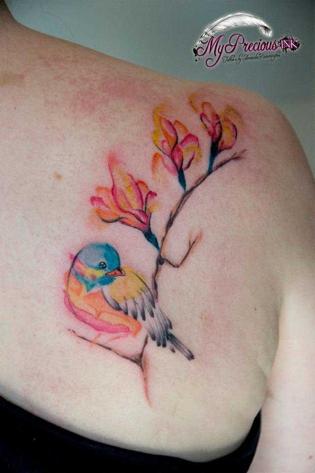 Pretty piece by Amanda Remmington.
