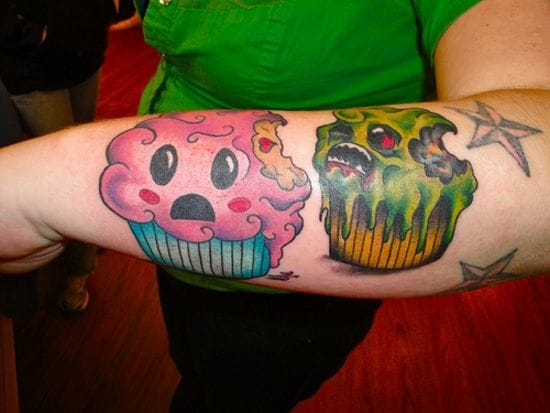 Zombie cupcake's attack !!!