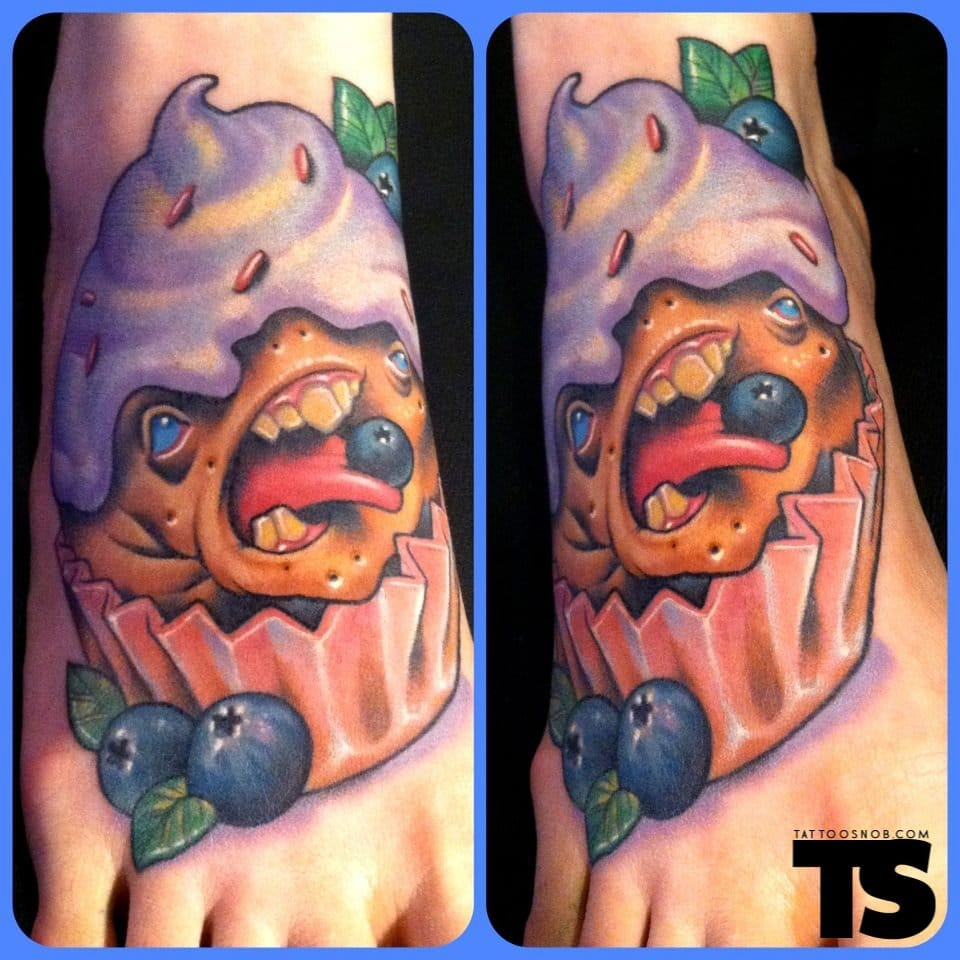 Sensacional essa ideia! Linda tatuagem de Scotty Munster