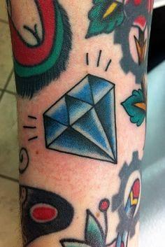 Diamond Tattoo Filler by Chris Hold