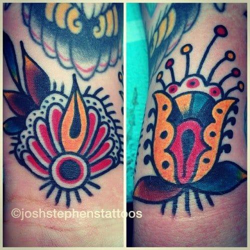Flower Filler by Joseph Stephens Tattoo