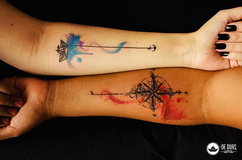 Projetos Gráficos Multi Coloridos e Tatuagens Maravilhosas