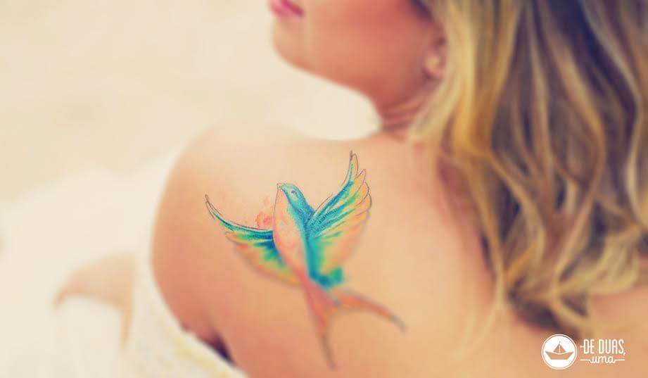 Trabalho da tatuadora Marley Mendes