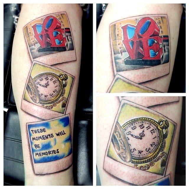 It's always love o'clock. By Andrew Ferguson.