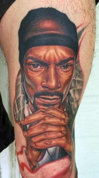 Snoop Dogg by Nikko Hurtado.