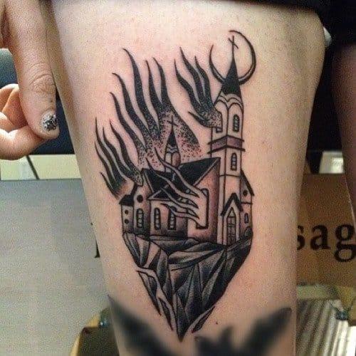 Tattoo by Sid Maske