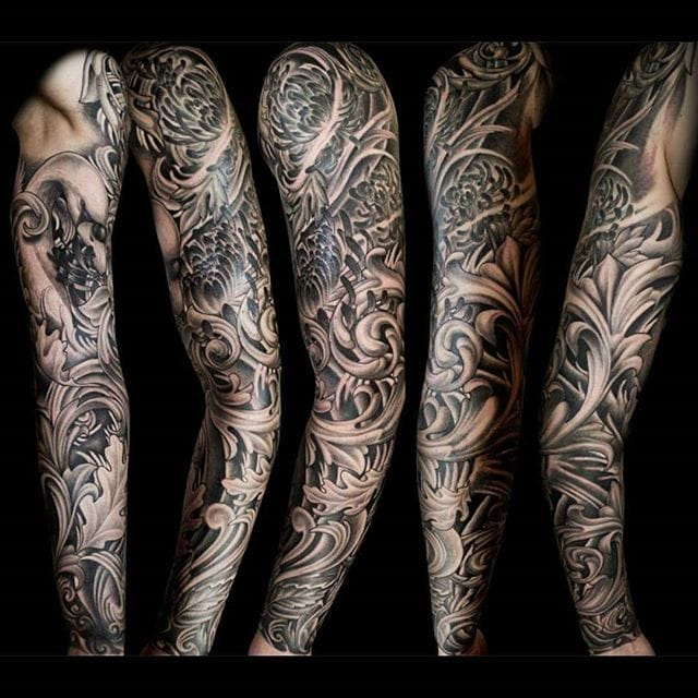 A full sleeve by John Kautz.