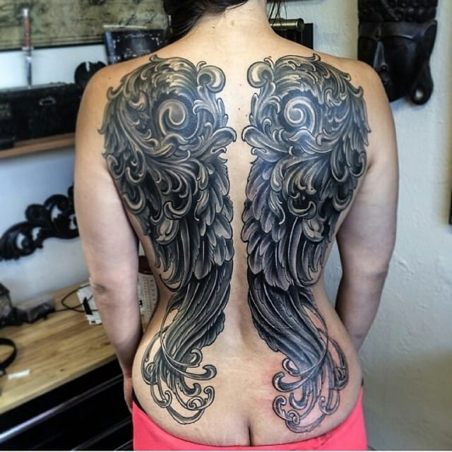 Stunning wings by Neil Nelson...