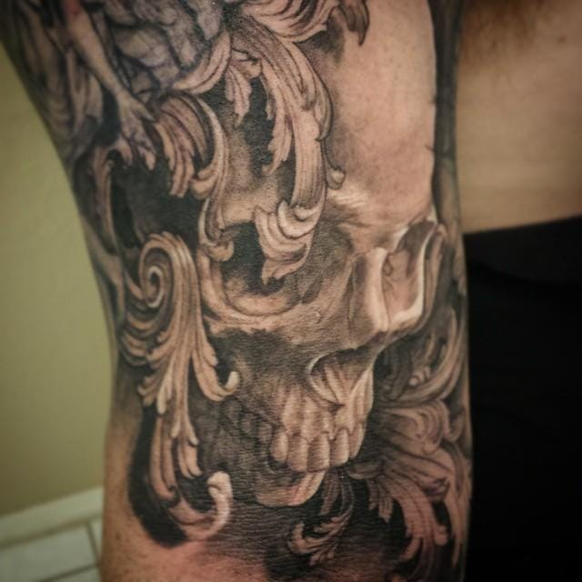Rad skull by Ryan Townsend.