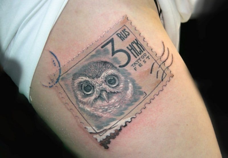 No Need To Be A Philatelist To Get Stamp Tattoos