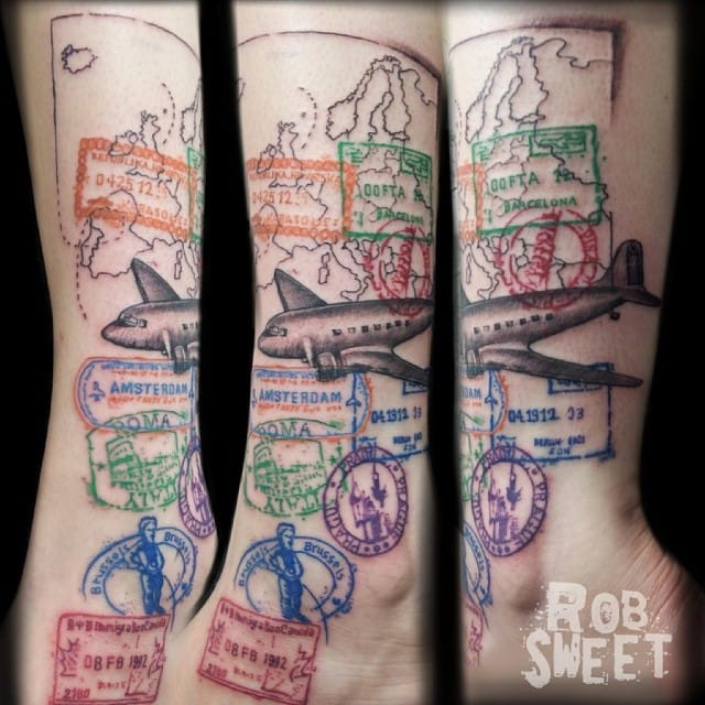 That's what you call wanderlust! By Rob Sweet.