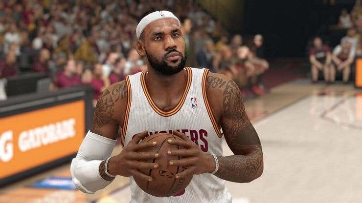 Be the canvas in NBA 2K16