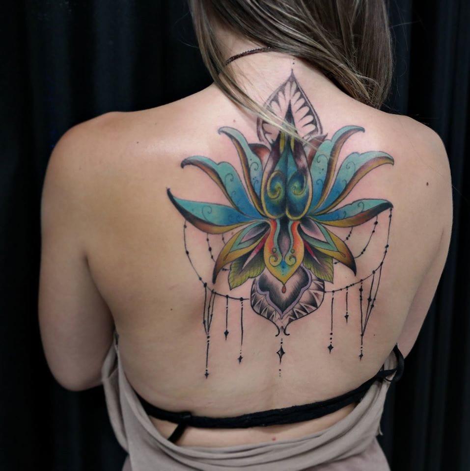 Lindíssima tatuagem colorida!