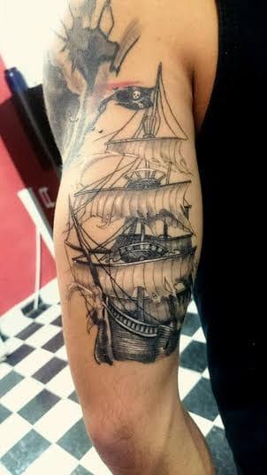 Lindo navio pirata!