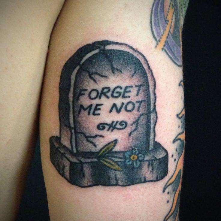Tombstone tattoo