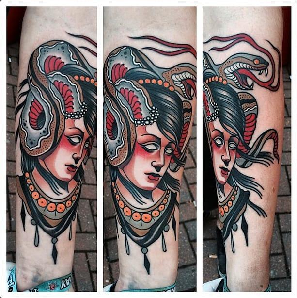 Domus Woman Tattoo