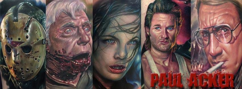 Paul Acker E Tatuagens Realistas Monstruosas Que Vão Te Assustar