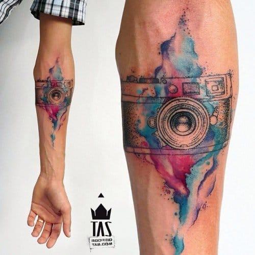 20 Tatuagens Para Quem É Apaixonado Por Fotografia