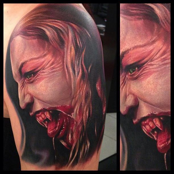Paul Acker e Tatuagens Realistas Monstruosas (Parte 2)