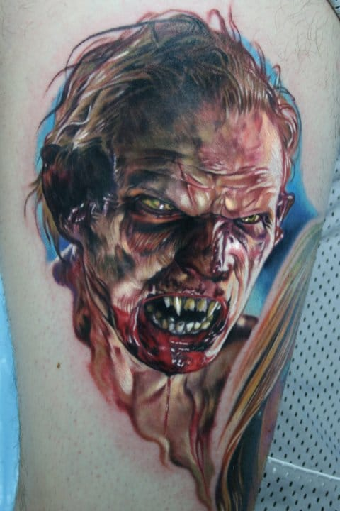 Os detalhes que ele coloca nas tatuagens são surreais